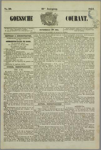 Goessche Courant 1854-05-18
