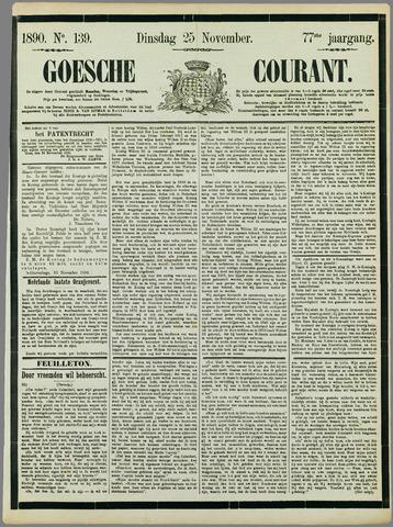 Goessche Courant 1890-11-25