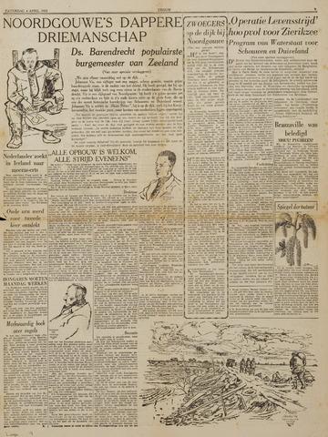 Watersnood documentatie 1953 - kranten 1953-04-04