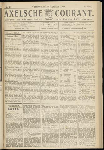 Axelsche Courant 1930-11-28