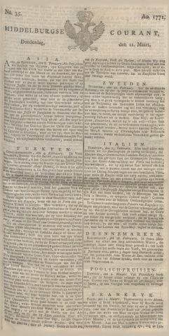 Middelburgsche Courant 1771-03-21