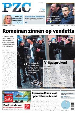 Provinciale Zeeuwse Courant 2015-02-23