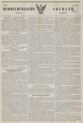 Middelburgsche Courant 1853-03-12