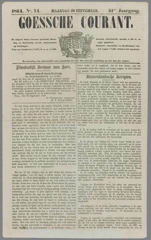 Goessche Courant 1864-09-26