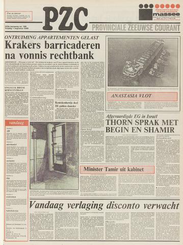 Provinciale Zeeuwse Courant 1980-08-01