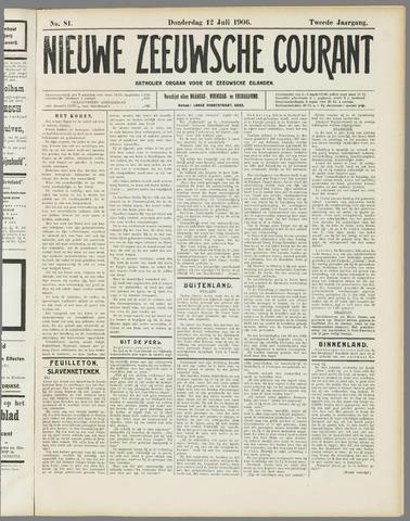 Nieuwe Zeeuwsche Courant 1906-07-12