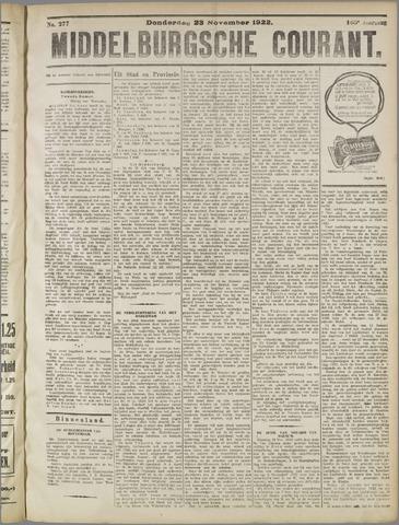 Middelburgsche Courant 1922-11-23