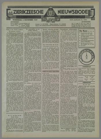 Zierikzeesche Nieuwsbode 1937-11-03