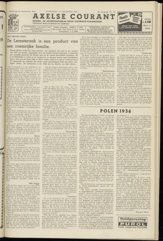 Axelsche Courant 1956-08-15