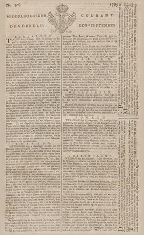Middelburgsche Courant 1785-09-08