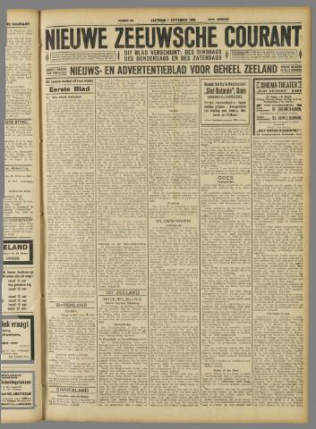 Nieuwe Zeeuwsche Courant 1928-09-01