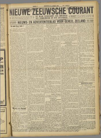 Nieuwe Zeeuwsche Courant 1924-01-24