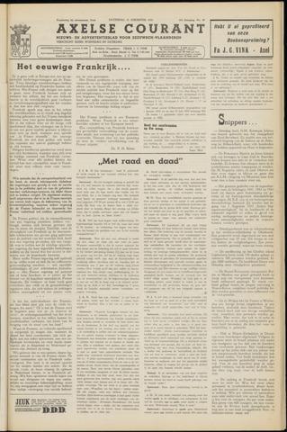 Axelsche Courant 1953-08-15