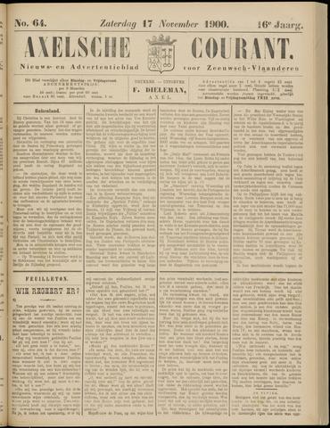 Axelsche Courant 1900-11-17