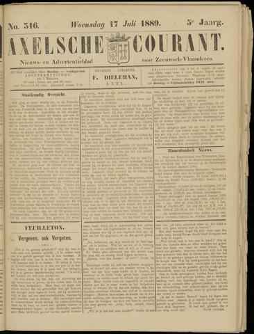 Axelsche Courant 1889-07-17