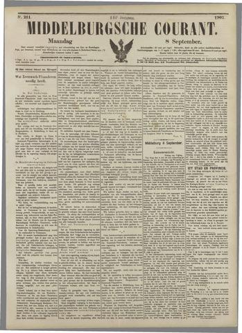 Middelburgsche Courant 1902-09-08