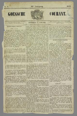 Goessche Courant 1857