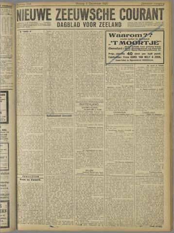 Nieuwe Zeeuwsche Courant 1920-12-03