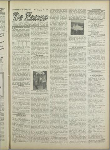 De Zeeuw. Christelijk-historisch nieuwsblad voor Zeeland 1943-04-08