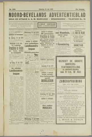 Noord-Bevelands Nieuws- en advertentieblad 1929-07-13