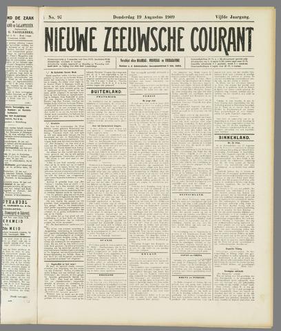 Nieuwe Zeeuwsche Courant 1909-08-19