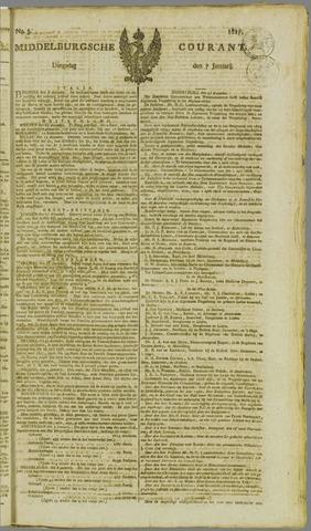 Middelburgsche Courant 1817-01-07