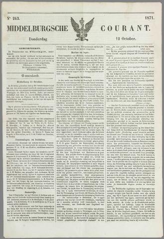 Middelburgsche Courant 1871-10-12