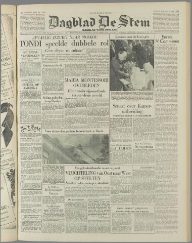 de Stem 1952-05-07