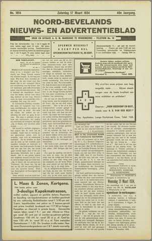 Noord-Bevelands Nieuws- en advertentieblad 1934-03-17