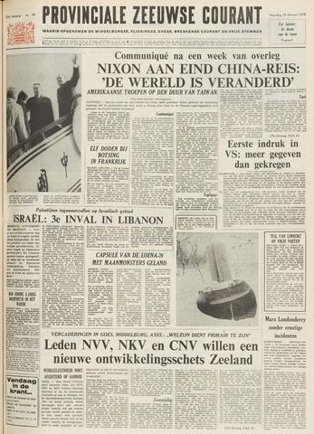 Provinciale Zeeuwse Courant 1972-02-28