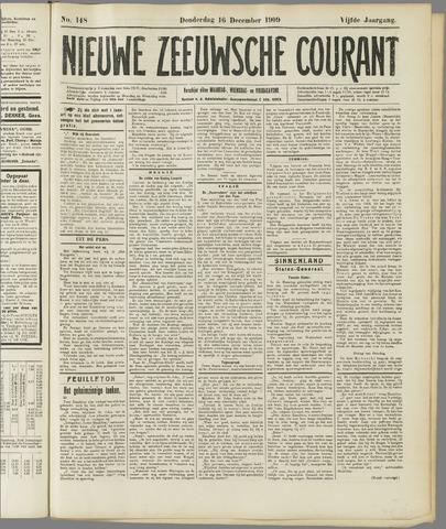 Nieuwe Zeeuwsche Courant 1909-12-16