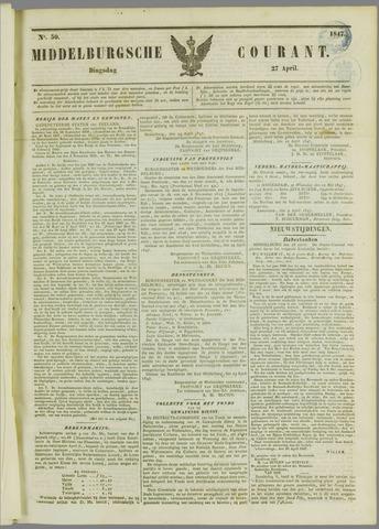 Middelburgsche Courant 1847-04-27