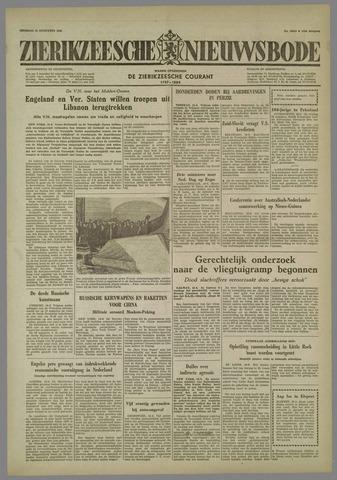 Zierikzeesche Nieuwsbode 1958-08-19