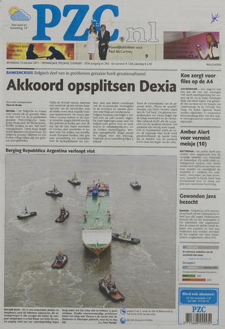 Provinciale Zeeuwse Courant 2011-10-10