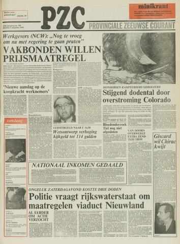 Provinciale Zeeuwse Courant 1976-08-03