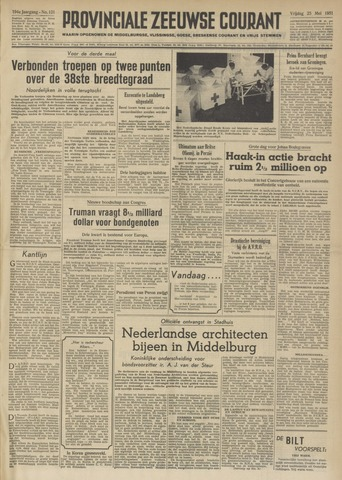 Provinciale Zeeuwse Courant 1951-05-25