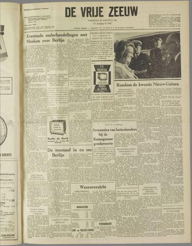 de Vrije Zeeuw 1961-08-30
