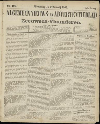 Ter Neuzensche Courant. Algemeen Nieuws- en Advertentieblad voor Zeeuwsch-Vlaanderen / Neuzensche Courant ... (idem) / (Algemeen) nieuws en advertentieblad voor Zeeuwsch-Vlaanderen 1869-02-10