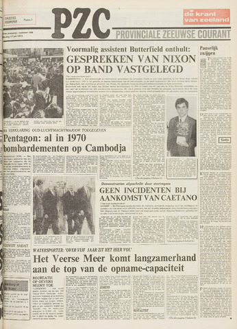 Provinciale Zeeuwse Courant 1973-07-17