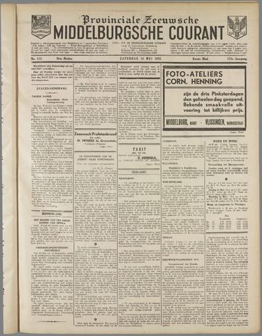 Middelburgsche Courant 1932-05-14