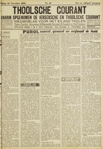 Ierseksche en Thoolsche Courant 1938-11-25