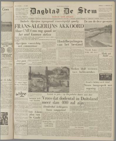 de Stem 1962-02-20