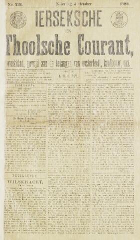 Ierseksche en Thoolsche Courant 1889-10-05
