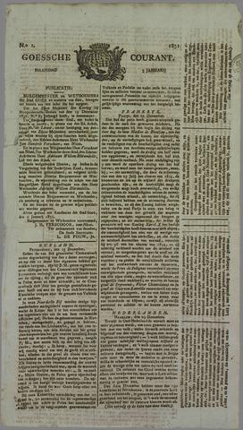 Goessche Courant 1831