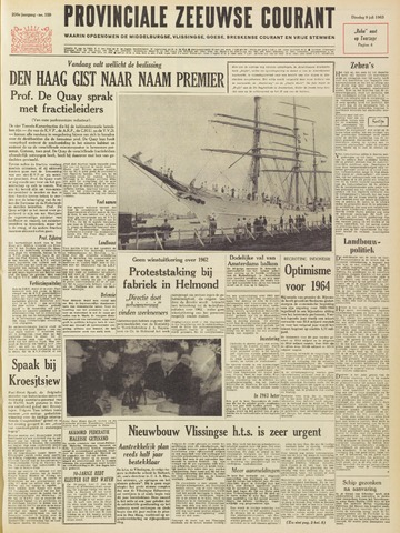 Provinciale Zeeuwse Courant 1963-07-09
