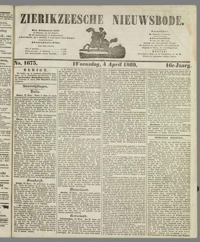 Zierikzeesche Nieuwsbode 1860-04-04