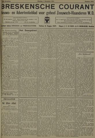 Breskensche Courant 1934-12-04