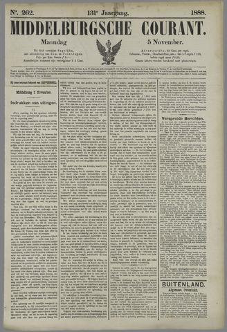 Middelburgsche Courant 1888-11-05