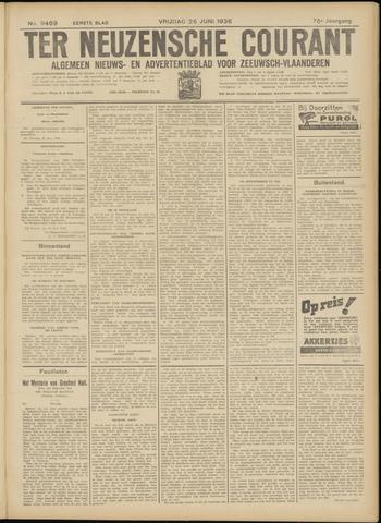 Ter Neuzensche Courant. Algemeen Nieuws- en Advertentieblad voor Zeeuwsch-Vlaanderen / Neuzensche Courant ... (idem) / (Algemeen) nieuws en advertentieblad voor Zeeuwsch-Vlaanderen 1936-06-26