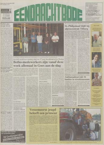 Eendrachtbode (1945-heden)/Mededeelingenblad voor het eiland Tholen (1944/45) 2003-09-18